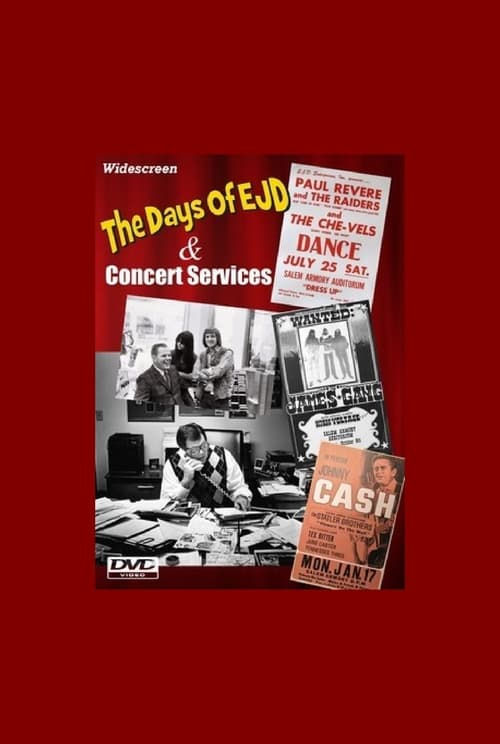 The Days Of EJD and Concert Services: a Northwest Rock & Roll Story
