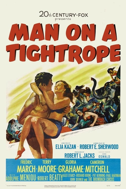 Largescale poster for Man on a Tightrope