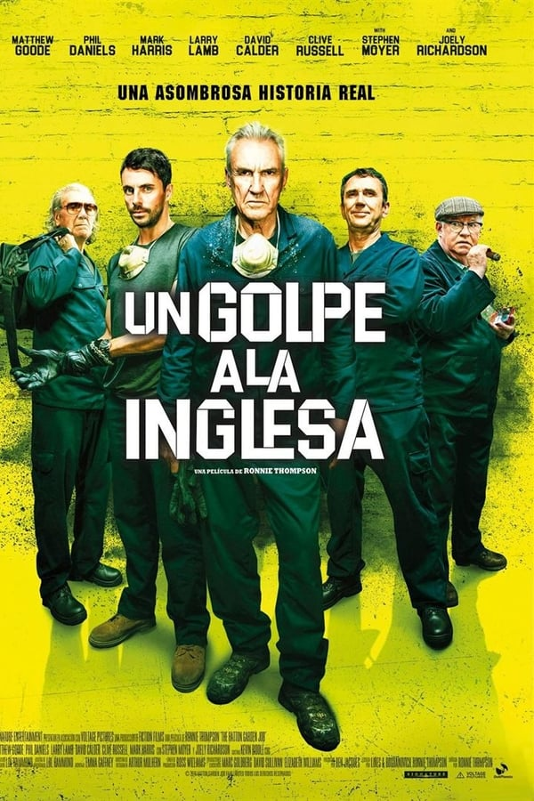The Hatton Garden Job (Un golpe a la inglesa)