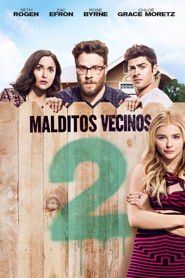 Malditos vecinos 2 (Neighbors 2: Sorority Rising) Buenos vecinos 2