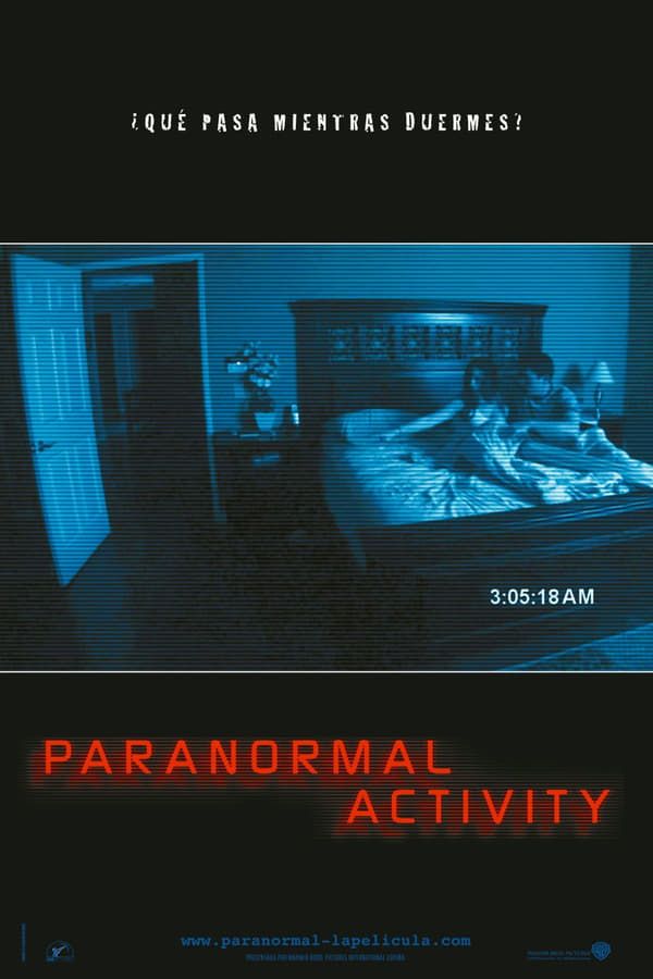 Actividad paranormal 1 (Paranormal Activity 1)