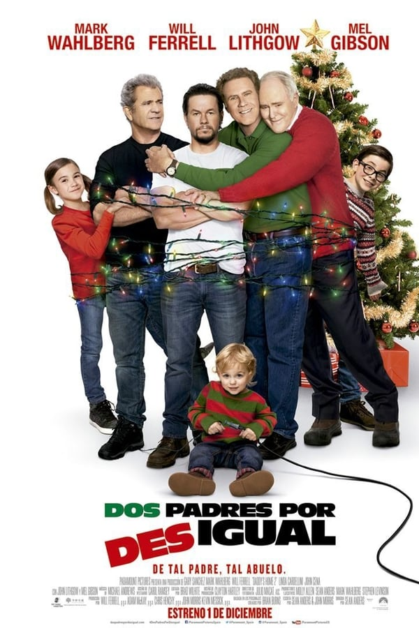 Padres por desigual 2 (Daddy's Home 2) Guerra de Papas 2