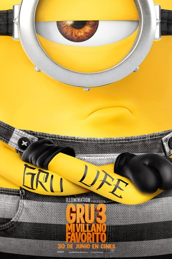 Gru 3. Mi villano favorito (Despicable Me 3)