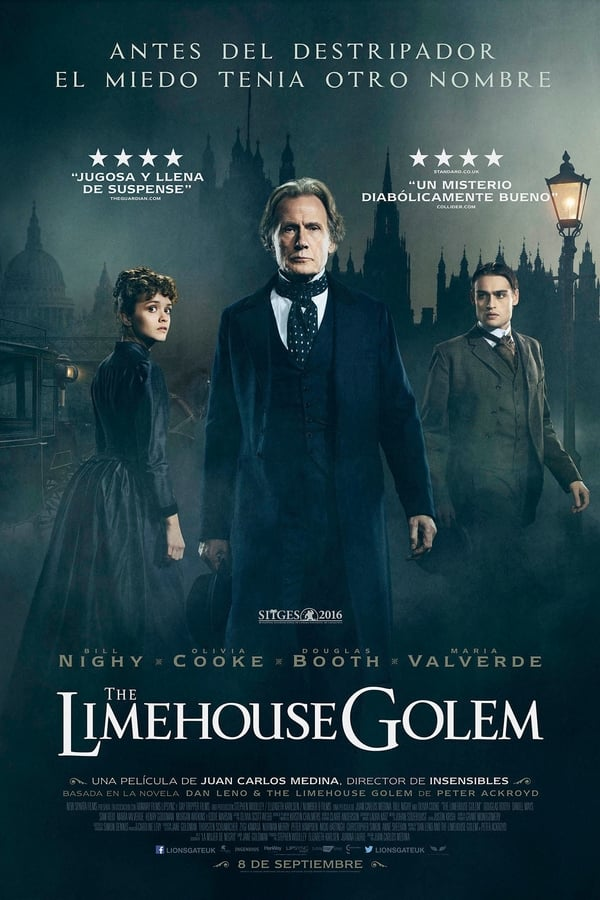 Los misteriosos asesinatos de Limehouse (The Limehouse Golem)