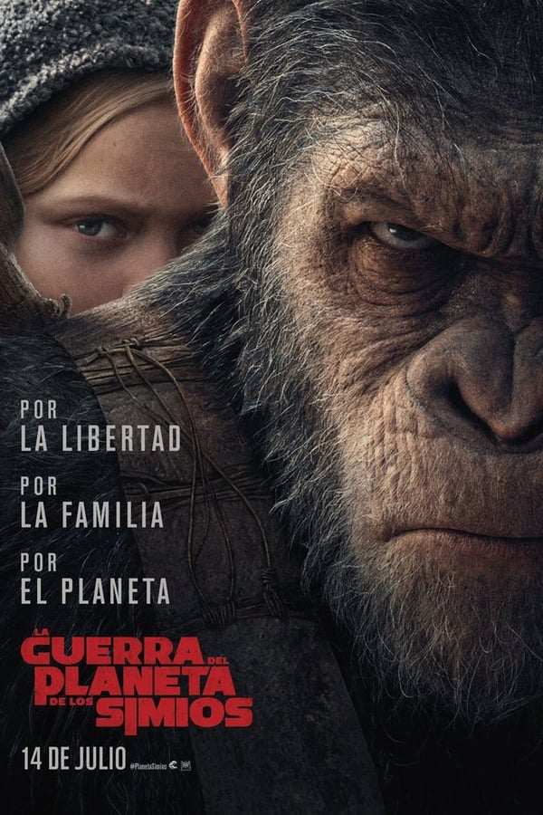 La guerra del Planeta de los Simios (War for the Planet of the Apes) ()
