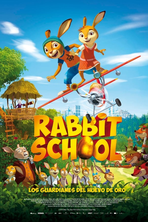 Rabbit School: Los guardianes del huevo de oro ()