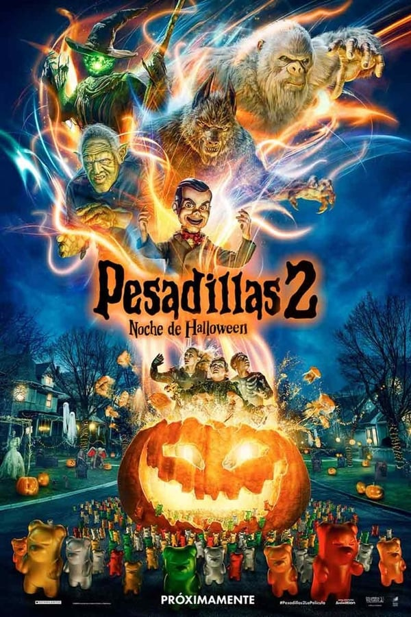 Pesadillas 2: Noche de Halloween (Goosebumps 2: Haunted Halloween)