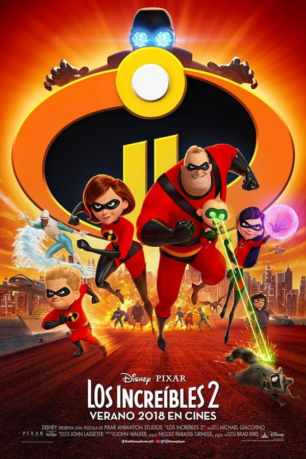 Los Increíbles 2 (The Incredibles 2) ()