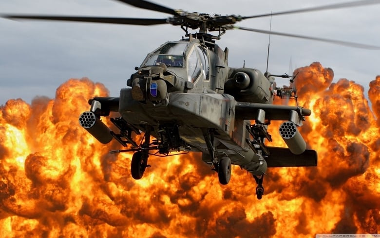 National Geographic Megafactories Apache Helicopter