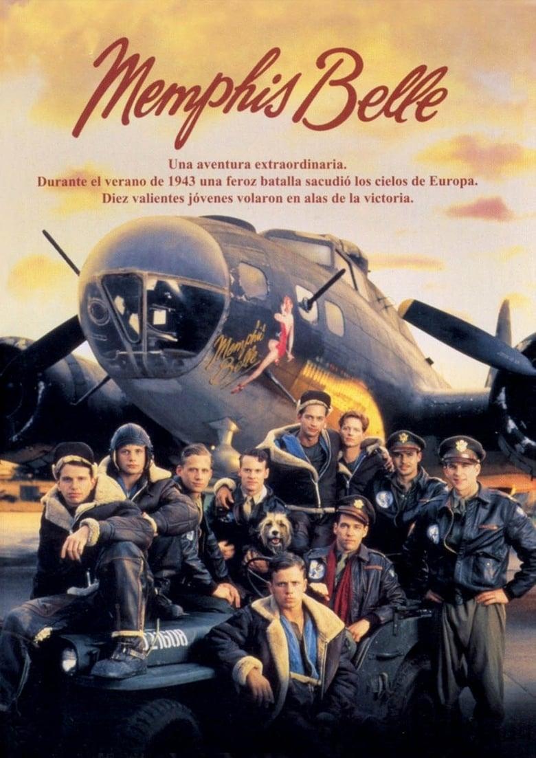 Pelicula El Bombardero Memphis Belle (1990) HD 720p Latino Online imagen