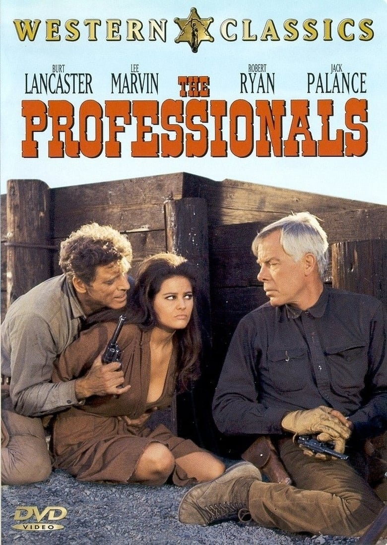 the professionals cast cast and crew of the movie the