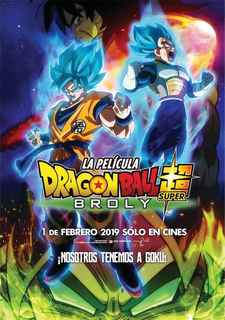 Dragon Ball Super Broly [1080p] [Latino-Japones] [GoogleDrive]