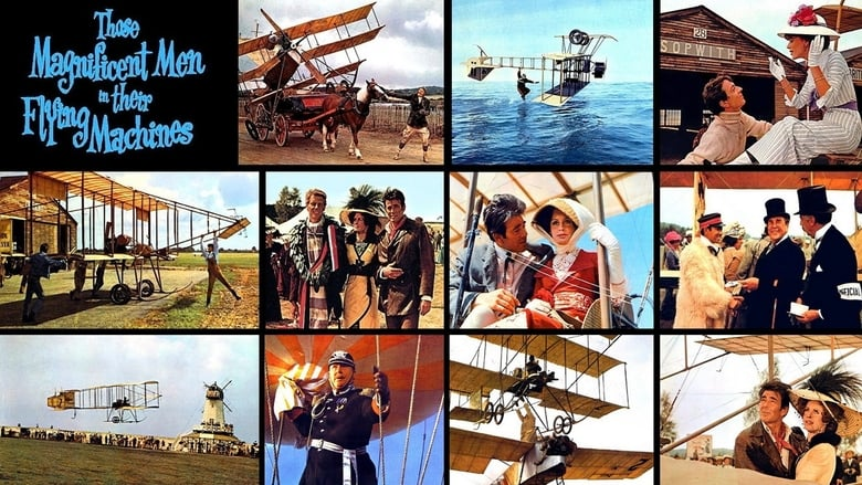 Ver y Descargar Those Magnificent Men in Their Flying Machines or How I Flew from London to Paris in 25 hours 11 minutes Español Gratis