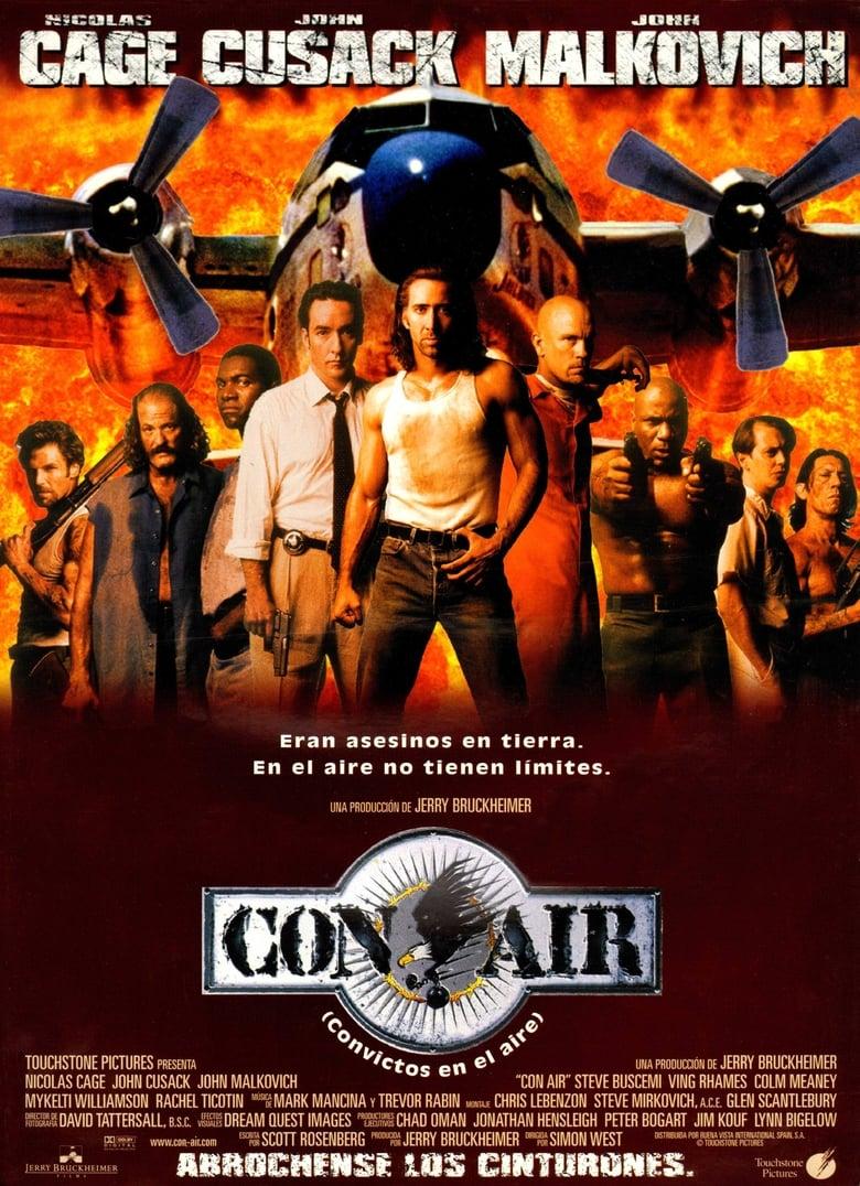 Pelicula Con Air (Convictos en el Aire) (1997) DvdRip Latino Online imagen