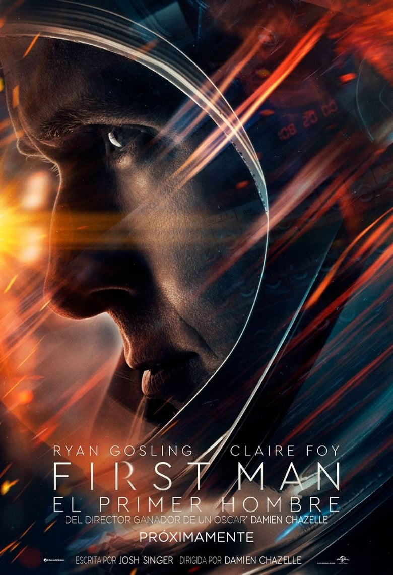 El Primer Hombre en la Luna (2018) HD 1080P LATINO/INGLES
