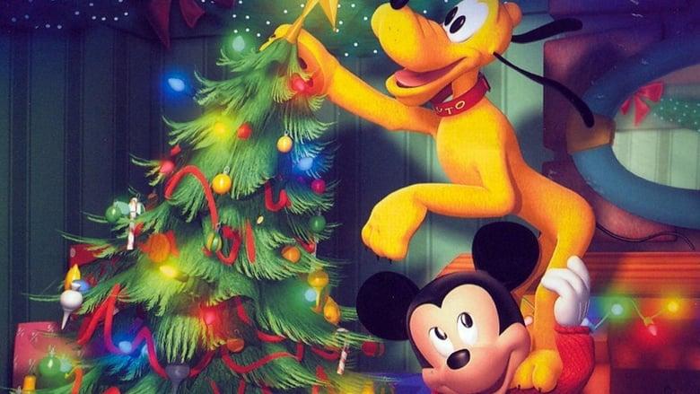 Mickey's Twice Upon a Christmas Backdrop