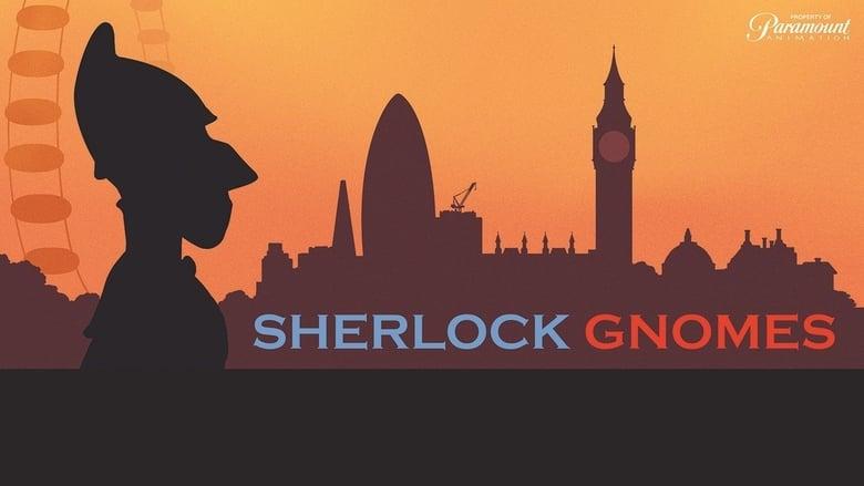 Sherlock Gnomes Backdrop