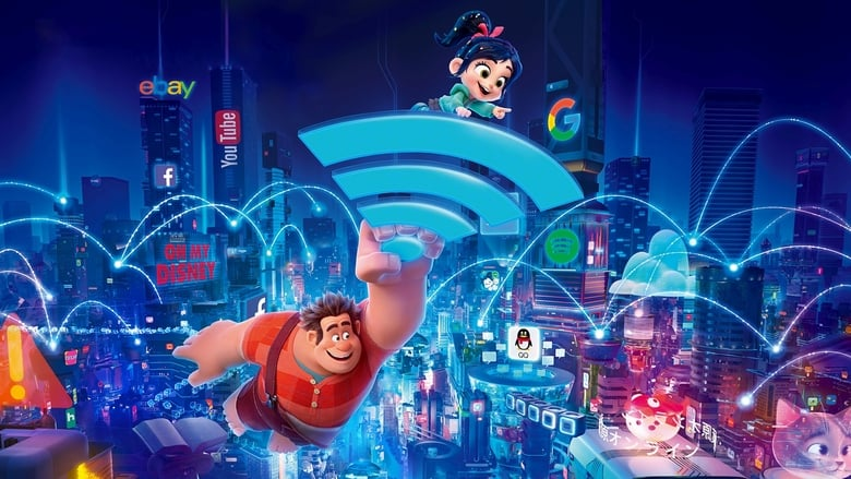 Ralph Breaks the Internet (2018) DVDScr 850MB Ganool