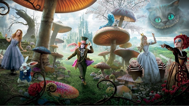 Alice in Wonderland (2010) movie in HD quality