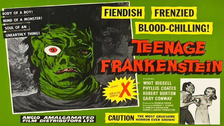 Regarder le Film I Was a Teenage Frankenstein en ligne gratuit