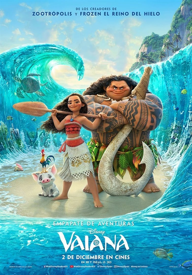 Moana: Un mar de aventuras