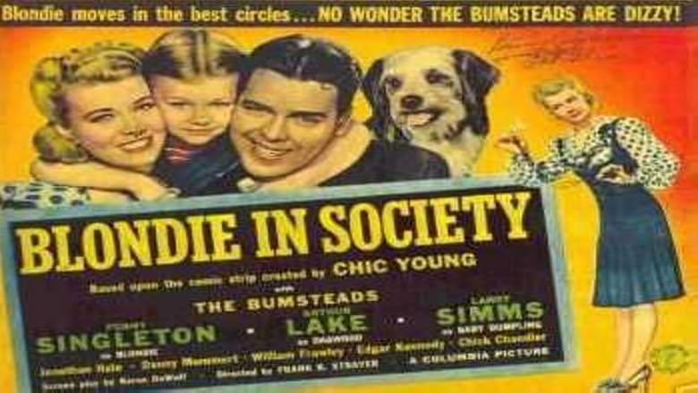 Blondie in Society film stream Online kostenlos anschauen