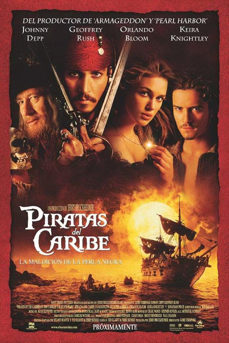 Piratas del Caribe 1 La Maldicion de La Perla Negra