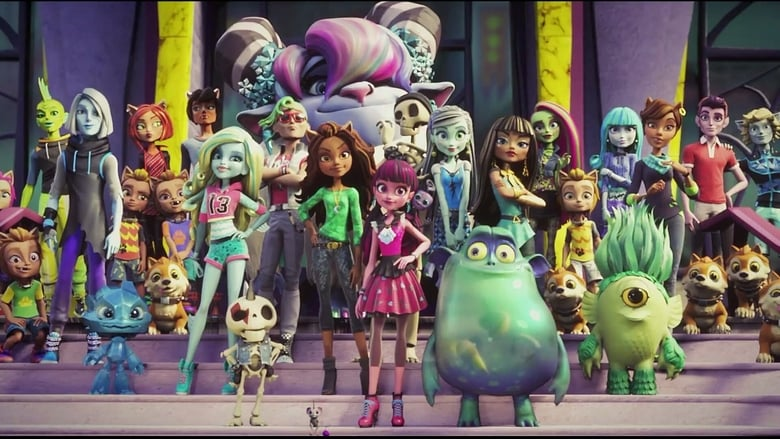 Monster High: Electrified Backdrop