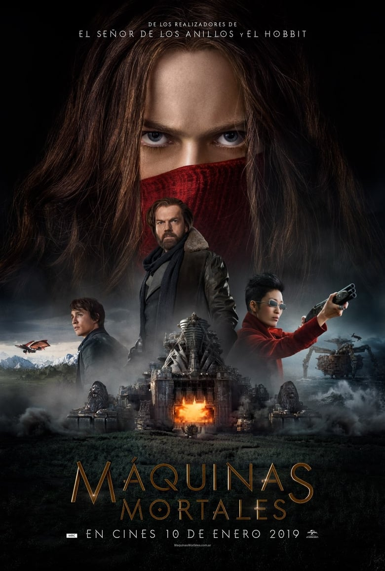 Máquinas Mortales (2018) HD 1080P LATINO/INGLES