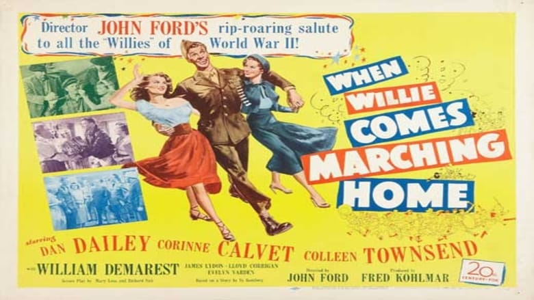 Regarder Film When Willie Comes Marching Home Gratuit en français