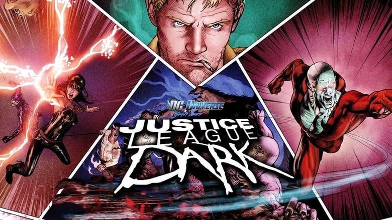 Justice League Dark Backdrop