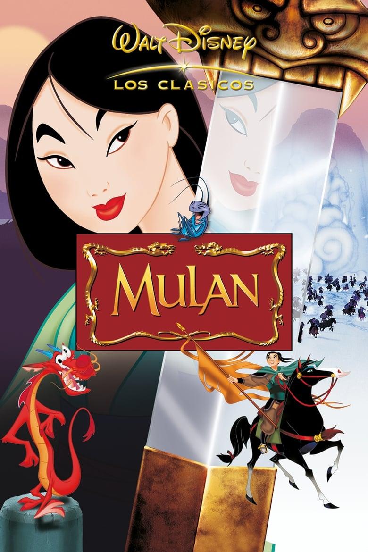 Mulán (1998) HD 720P LATINO/INGLES