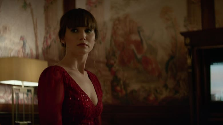 Red Sparrow Backdrop