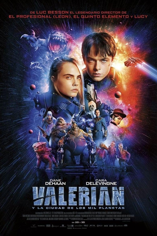 VALERIAN Y LA CIUDAD DE LOS MIL PLANETAS (2017) HD 720P LATINO/INGLES
