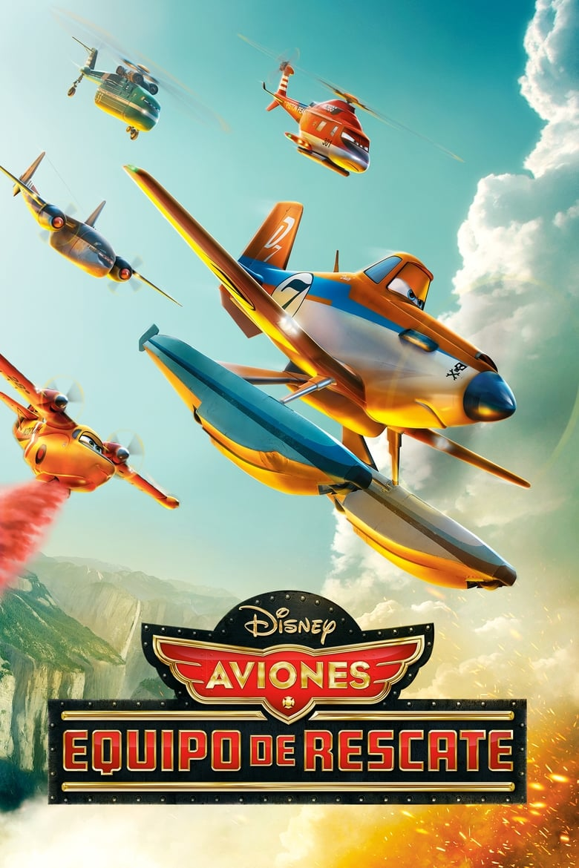 Aviones 2: Equipo de Rescate (2014) HD 720P LATINO/INGLES