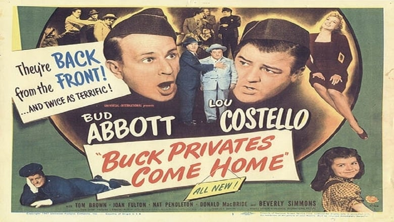 Le Film Buck Privates Come Home Vostfr