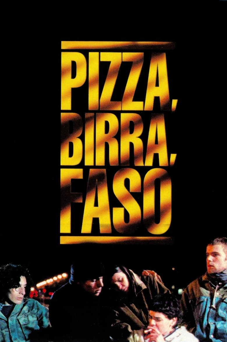 Pizza, Birra, Faso (1998) DvdRip Latino