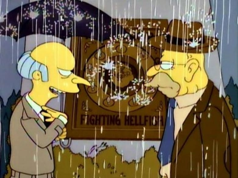 "Raging Abe Simpson and His Grumbling Grandson in ""The Curse of the Flying Hellfish"""