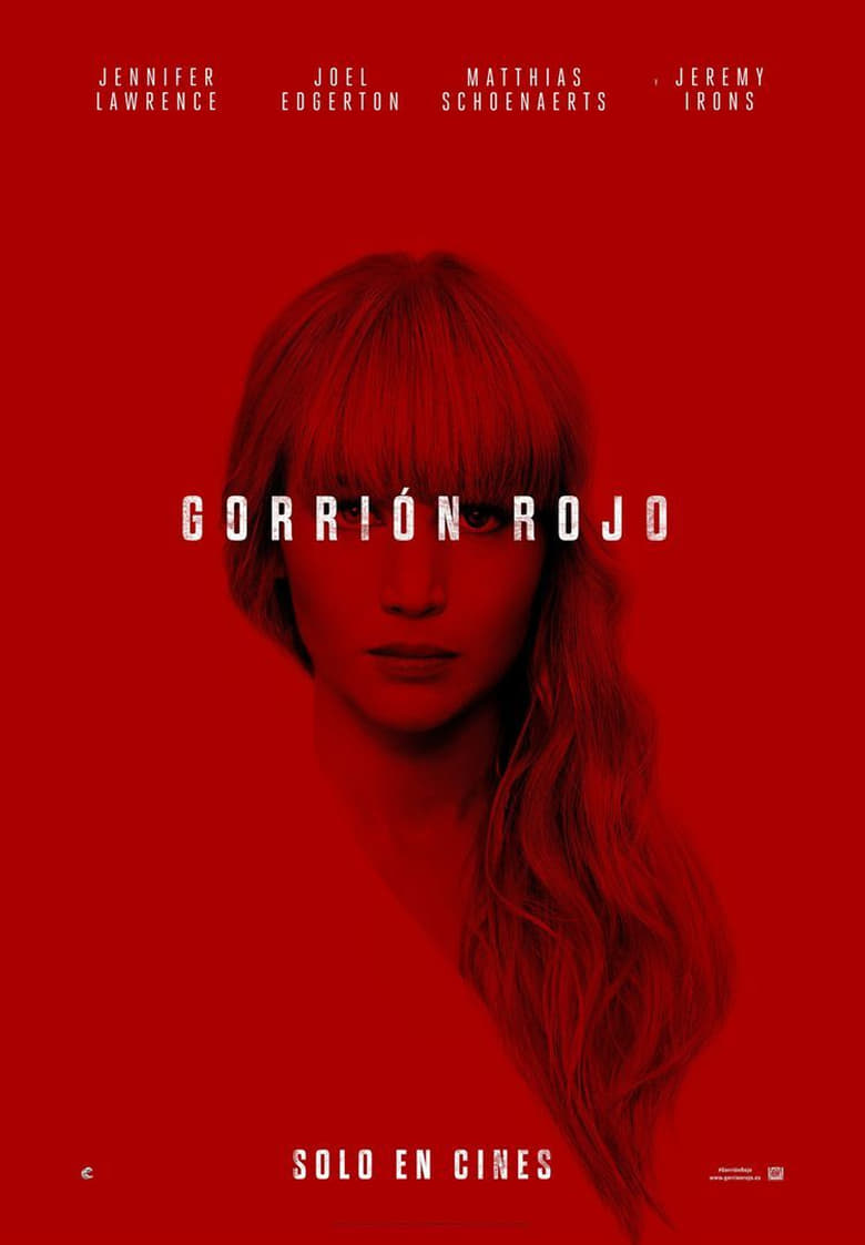 Operación Red Sparrow (2018) HD 1080P LATINO/INGLES