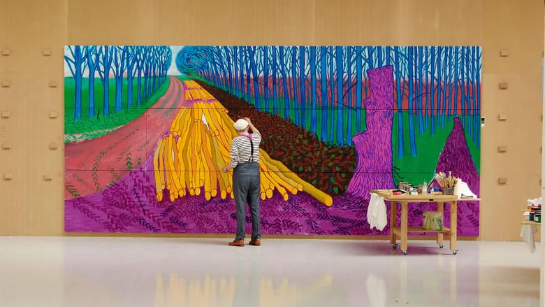 David Hockney at the Royal Academy of Arts - Exhibition on Screen