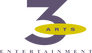 3 Arts Entertainment logo