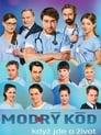 Modrý kód poster