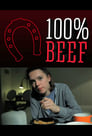 100% BEEF poster
