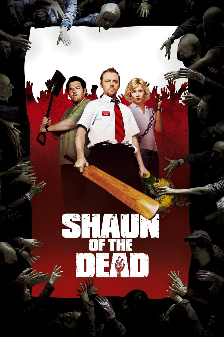 Theatrical poster for Shaun of the Dead