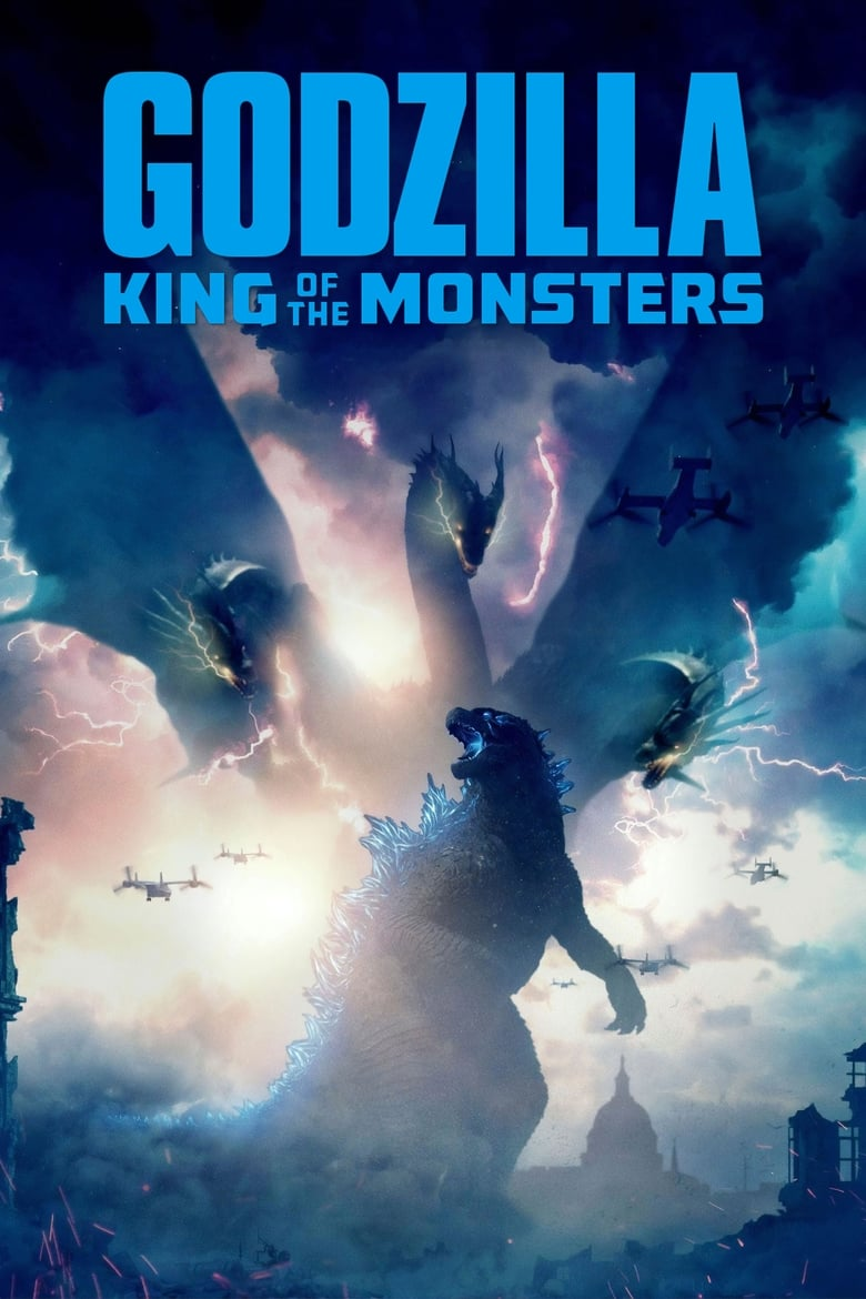 Theatrical poster for Godzilla: King Of The Monsters