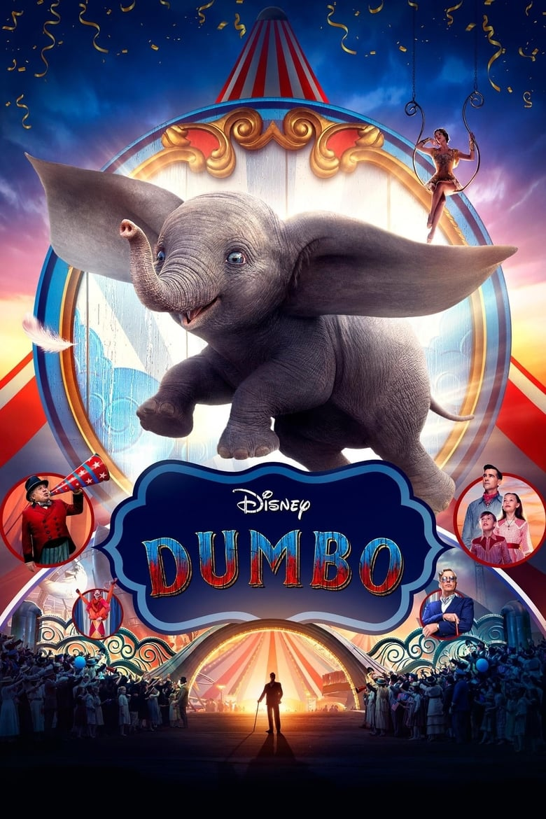 Theatrical poster for Dumbo (2019)