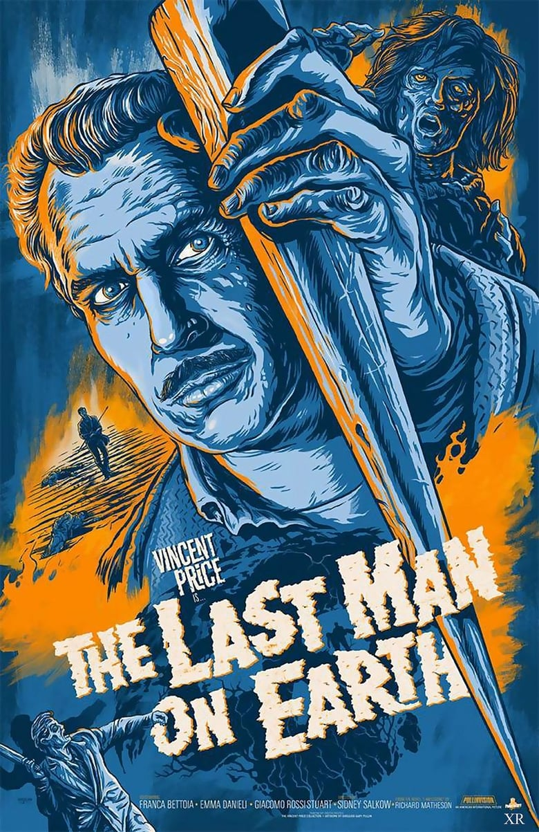 Theatrical poster for Last Man on Earth (1964)