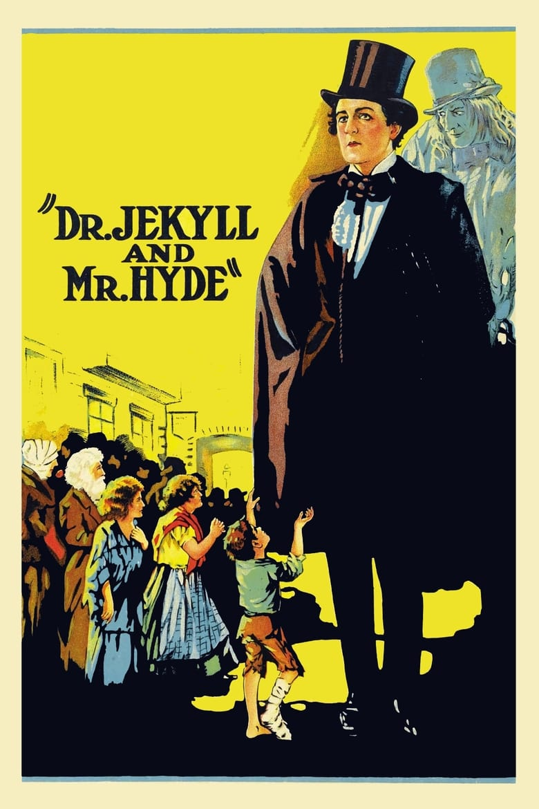 Theatrical poster for Dr. Jekyll and Mr. Hyde (1920)