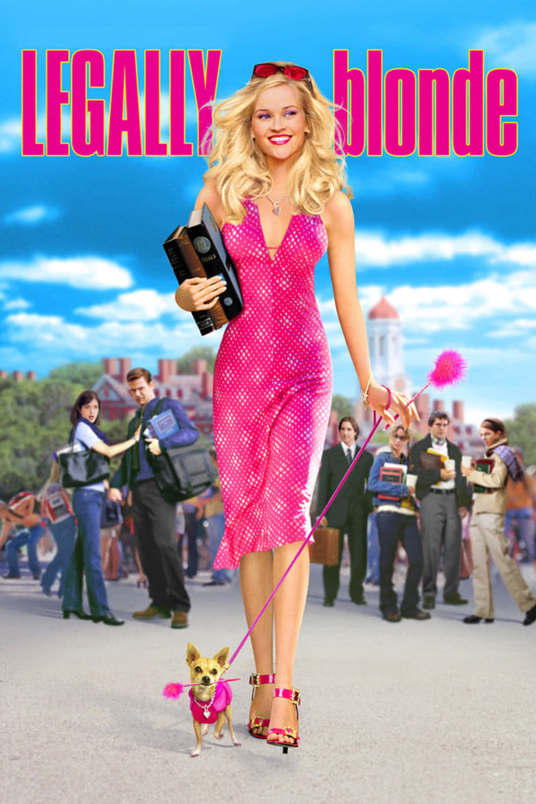 Theatrical poster for Legally Blonde