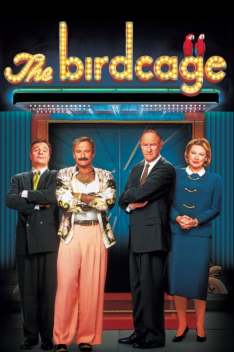 Theatrical poster for The Birdcage